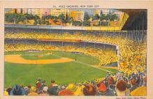 spo023648 - Polo Grounds, New York, USA Home of the New York Giants New York City, New York Base Ball Baseball Stadium Postcards Post Card