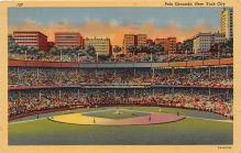 spo023649 - Polo Grounds, New York, USA Home of the New York Giants New York City, New York Base Ball Baseball Stadium Postcards Post Card