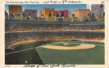 spo023652 - Polo Grounds, New York, USA Home of the New York Giants New York City, New York Base Ball Baseball Stadium Postcards Post Card