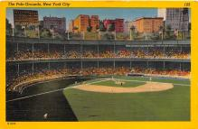 spo023654 - Polo Grounds, New York, USA Home of the New York Giants New York City, New York Base Ball Baseball Stadium Postcards Post Card