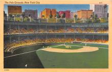 spo023655 - Polo Grounds, New York, USA Home of the New York Giants New York City, New York Base Ball Baseball Stadium Postcards Post Card