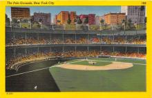 spo023656 - Polo Grounds, New York, USA Home of the New York Giants New York City, New York Base Ball Baseball Stadium Postcards Post Card