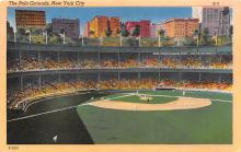 spo023657 - Polo Grounds, New York, USA Home of the New York Giants New York City, New York Base Ball Baseball Stadium Postcards Post Card
