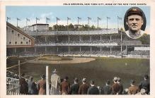 spo023661 - Polo Grounds, New York, USA Home of the New York Giants New York City, New York Base Ball Baseball Stadium Postcards Post Card