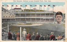 spo023662 - Polo Grounds, New York, USA National League Baseball Park New York City, New York Base Ball Baseball Stadium Postcards Post Card