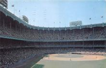 spo023665 - Yankee Stadium New York City, New York Base Ball Baseball Stadium Postcards Post Card