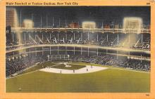 spo023669 - Yankee Stadium New York City, New York Base Ball Baseball Stadium Postcards Post Card