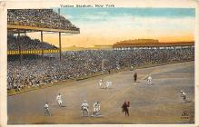 spo023671 - Yankee Stadium New York City, New York Base Ball Baseball Stadium Postcards Post Card