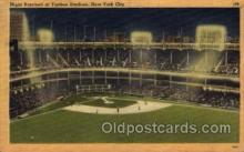 spo023672 - Yankee Stadium New York City, New York Base Ball Baseball Stadium Postcards Post Card