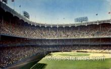 spo023673 - Yankee Stadium New York City, New York Base Ball Baseball Stadium Postcards Post Card