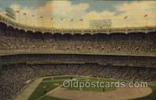 spo023681 - Yankee Stadium New York City, New York Base Ball Baseball Stadium Postcards Post Card