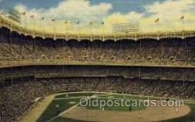 spo023683 - Yankee Stadium New York City, New York Base Ball Baseball Stadium Postcards Post Card