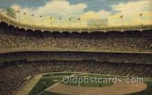 spo023686 - Yankee Stadium New York City, New York Base Ball Baseball Stadium Postcards Post Card