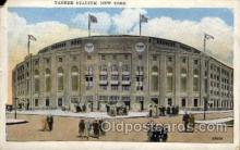 spo023688 - Yankee Stadium New York City, New York Base Ball Baseball Stadium Postcards Post Card