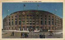 spo023689 - Yankee Stadium New York City, New York Base Ball Baseball Stadium Postcards Post Card