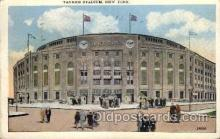 spo023690 - Yankee Stadium New York City, New York Base Ball Baseball Stadium Postcards Post Card