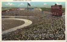 spo023699 - Yankee Stadium New York City, New York Base Ball Baseball Stadium Postcards Post Card