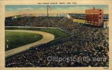 spo023703 - Yankee Stadium New York City, New York Base Ball Baseball Stadium Postcards Post Card