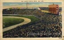 spo023704 - Yankee Stadium New York City, New York Base Ball Baseball Stadium Postcards Post Card