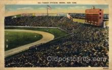 spo023706 - Yankee Stadium New York City, New York Base Ball Baseball Stadium Postcards Post Card
