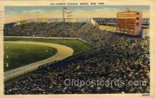 spo023707 - Yankee Stadium New York City, New York Base Ball Baseball Stadium Postcards Post Card