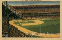 spo023709 - Yankee Stadium New York City, New York Base Ball Baseball Stadium Postcards Post Card