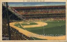 spo023710 - Yankee Stadium New York City, New York Base Ball Baseball Stadium Postcards Post Card