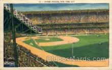 spo023711 - Yankee Stadium New York City, New York Base Ball Baseball Stadium Postcards Post Card
