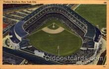 spo023714 - Yankee Stadium New York City, New York Base Ball Baseball Stadium Postcards Post Card