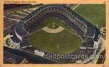 spo023715 - Yankee Stadium New York City, New York Base Ball Baseball Stadium Postcards Post Card