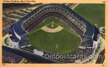 spo023717 - Yankee Stadium New York City, New York Base Ball Baseball Stadium Postcards Post Card