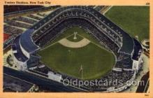spo023720 - Yankee Stadium New York City, New York Base Ball Baseball Stadium Postcards Post Card