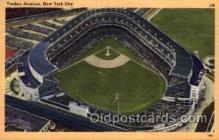 spo023721 - Yankee Stadium New York City, New York Base Ball Baseball Stadium Postcards Post Card