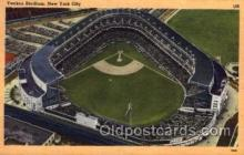 spo023724 - Yankee Stadium New York City, New York Base Ball Baseball Stadium Postcards Post Card