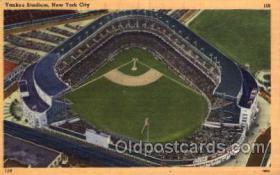 spo023725 - Yankee Stadium New York City, New York Base Ball Baseball Stadium Postcards Post Card