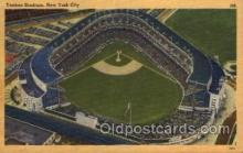 spo023727 - Yankee Stadium New York City, New York Base Ball Baseball Stadium Postcards Post Card