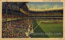 spo023728 - Yankee Stadium New York City, New York Base Ball Baseball Stadium Postcards Post Card