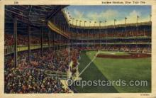 spo023729 - Yankee Stadium New York City, New York Base Ball Baseball Stadium Postcards Post Card