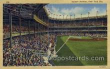 spo023731 - Yankee Stadium New York City, New York Base Ball Baseball Stadium Postcards Post Card