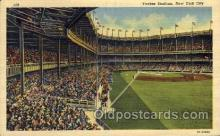 spo023732 - Yankee Stadium New York City, New York Base Ball Baseball Stadium Postcards Post Card