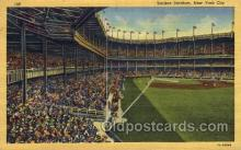 spo023733 - Yankee Stadium New York City, New York Base Ball Baseball Stadium Postcards Post Card
