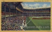 spo023734 - Yankee Stadium New York City, New York Base Ball Baseball Stadium Postcards Post Card