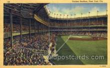 spo023735 - Yankee Stadium New York City, New York Base Ball Baseball Stadium Postcards Post Card