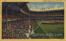spo023738 - Yankee Stadium New York City, New York Base Ball Baseball Stadium Postcards Post Card