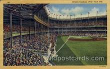 spo023739 - Yankee Stadium New York City, New York Base Ball Baseball Stadium Postcards Post Card