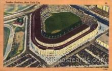 spo023740 - Yankee Stadium New York City, New York Base Ball Baseball Stadium Postcards Post Card