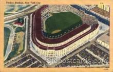 spo023741 - Yankee Stadium New York City, New York Base Ball Baseball Stadium Postcards Post Card
