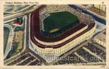 spo023742 - Yankee Stadium New York City, New York Base Ball Baseball Stadium Postcards Post Card
