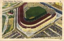 spo023743 - Yankee Stadium New York City, New York Base Ball Baseball Stadium Postcards Post Card