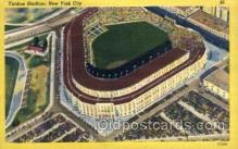 spo023744 - Yankee Stadium New York City, New York Base Ball Baseball Stadium Postcards Post Card